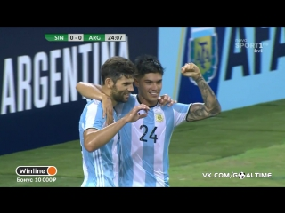 Сингапур - Аргентина 0:1. Фасио