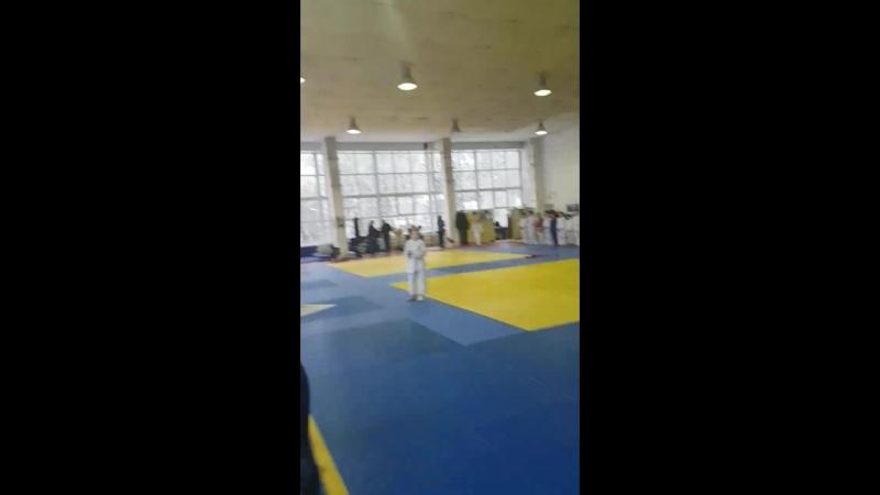 Изабелла выиграла 1 место по дзюдо в г. Брянск в своей весовой категории.