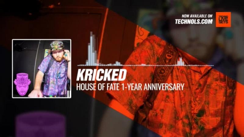 Techno music with @krickedmusic - House Of Fate 1-Year Anniversary Periscope
