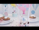 DIY - Hot-air balloons for the party table