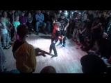 Илья Кекин в отборочнов баттле по хип-хопу на