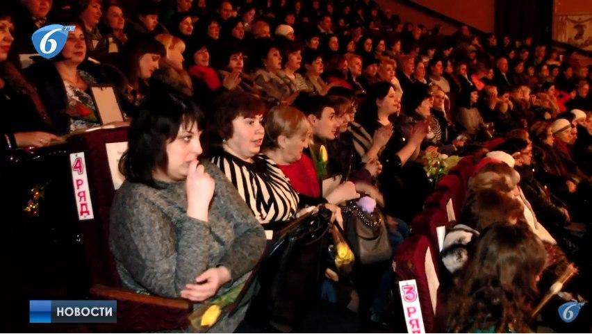 Во дворце культуры Шахтер прошла концертная программа к 8 марта