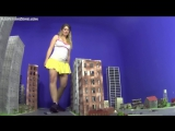 Keri Giantess Sneaker Attack