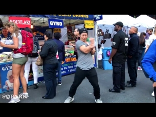 DANCING KPOP IN PUBLIC COMPILATION - BEST OF BTS by QPark--