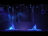 Казанцева Любовь, Унискова Ольга. I место Pole Dance Duet professionals. Сибирские гонки по вертикали «4 Стихии»