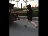 A husband motivating his wife to loose her weight in Japan...A unique style all husband must follow this.???