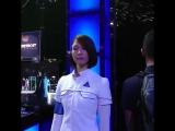 Японский робот-андроид Кара