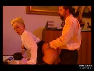 Silvia saint, anal addict secretary - retro porn private classics