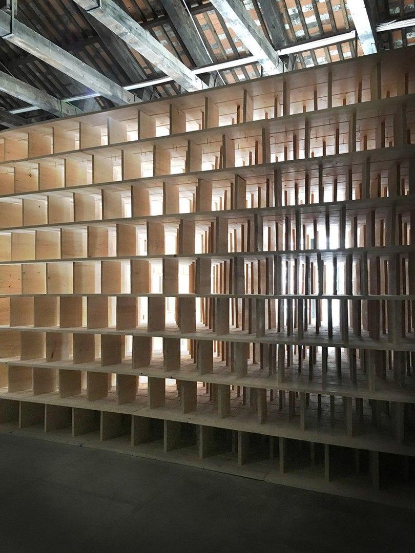 venice architecture biennale: slovenian pavilion by dekleva gregorič architects