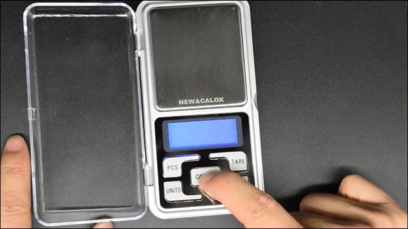 Электронные мини часы для ювелиров Newacalox 200г x 0.01г 🎩