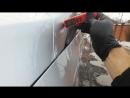 Удаление вмятин покраска в переход капота под толщиномер сложный цвет