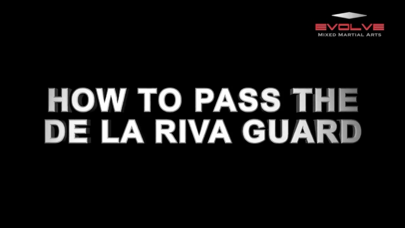 How To Pass The De La Riva Guard техники_за_200