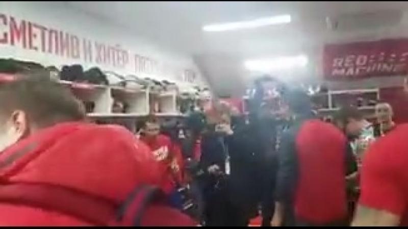 Радость российских хоккеистов