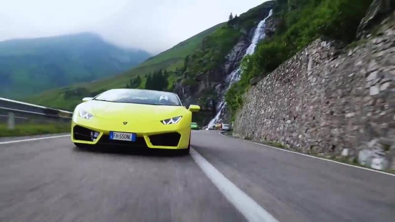 Lamborghini Huracán in Transylvania_ the Transfăgărășan