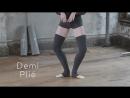 Ballet Glossary Plie