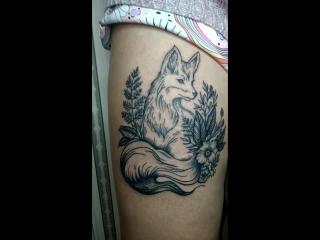 🌸🌿ЛисичкаBlackCatTattooArtist tattoo_lviv tattoo тату_львів  татуювання львів art татульвів tattooartist татуировка @