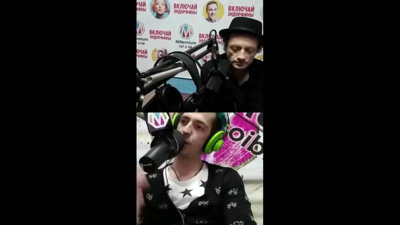 Глеб Самойлов на радио Миллениум