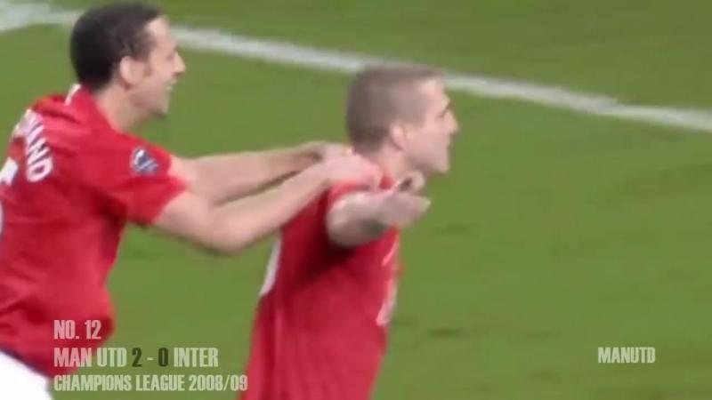 Неманья Видич все голы за Манчестер Юнайтед