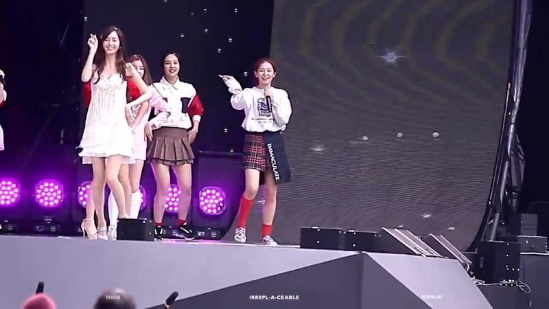 150912 SNSD – Gee (Seulgi (Red Velvet) Focus) @ DMC Festival Fancam