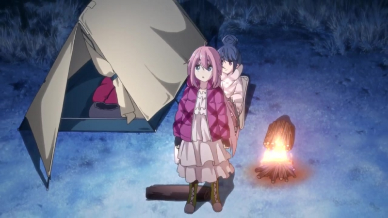 Yuru Camp△ | Лагерь с ночёвкой△ [PV-1]