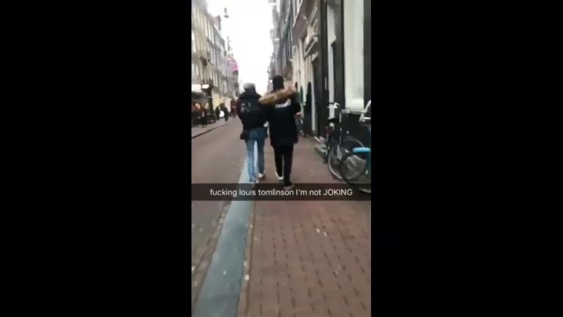 Elounor in Amsterdam, 21.12