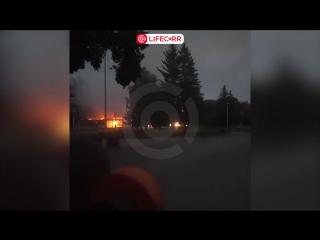 Горит кинотеатр Космос в Екатеринбурге!