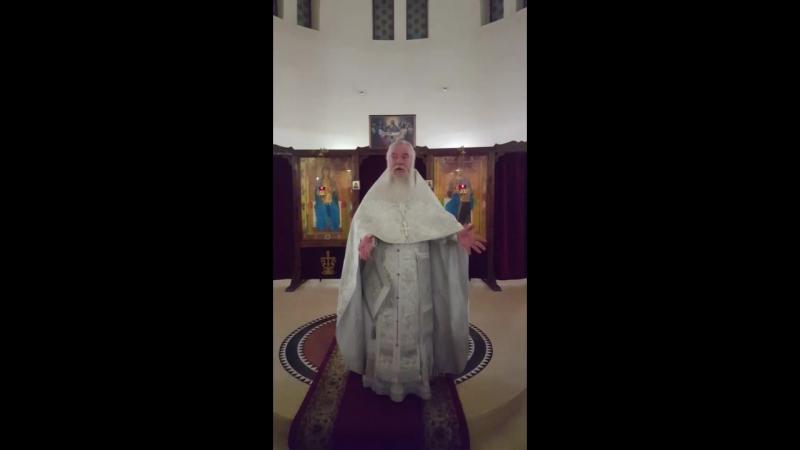 Святое Богоявление.Крещение Господа Бога Спаса нашего Иисуса Христа .Проповедь протоиерея Геннадия Макаренко.