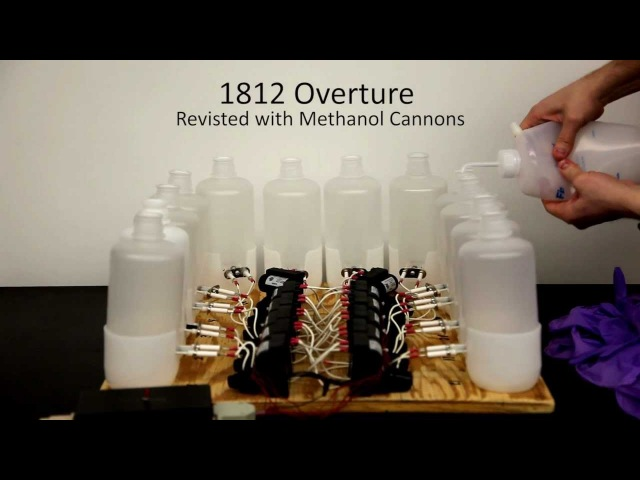 1812 Overture with Methanol Cannons