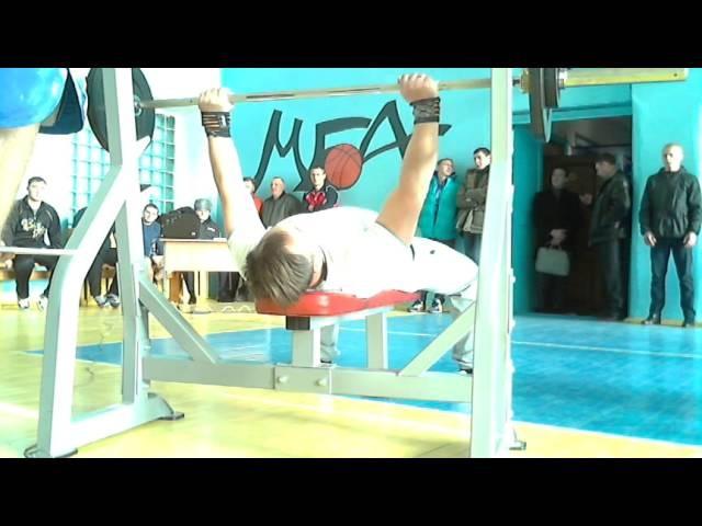 Шипицын В русский жим 55 кг на 71 повт, СВ=96,6, 05 11 14