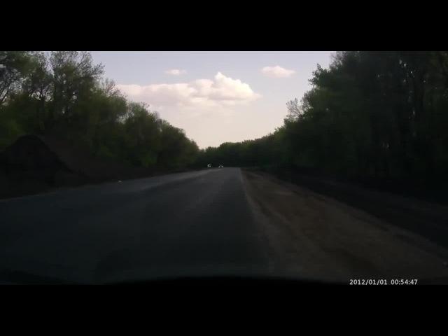 USSR tank is overtaking a car - need for speed (танк обгоняет авто) - 80 km/h! (armygifs) · coub, коуб