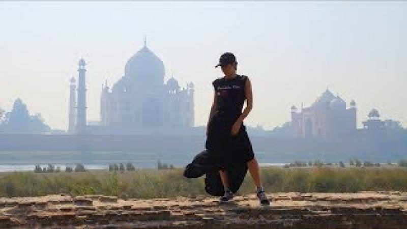 6 Индия 2018. Тадж-Махал. Выгнали из Мечети. Bob Marley cafe. Agra
