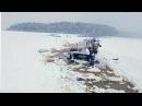 ВИркутской области под лед провалились бензовоз иавтокран. Новости. Первый ка...