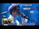 ENG/VIET SUB BTS Reaction I NEED U REFLECTION RM solo- WINGS TOUR 2017