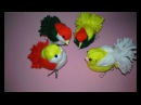 DIY Woolen Birds Wall Hanging for Home Decoration|Woollen Bird making|Jute Craft Idea