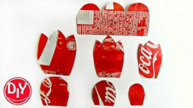 Шаблоны лепестков для создания цветов и заколок из алюминиевой банки/DIY/Мастер к...