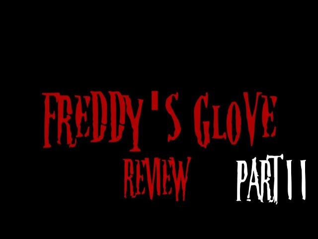 Обзор Перчаток Фредди Крюгера Часть II |Фильм-Обзор| Freddy's Glovе Review-Movie