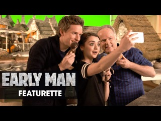 "Early Man (2018) Featurette ""Eddie Redmayne and Maisie Williams' Grand Day Out"""