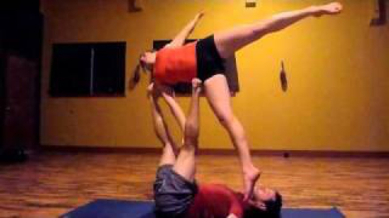 Advanced AcroYoga Lesson 1 - London Spin Progressions