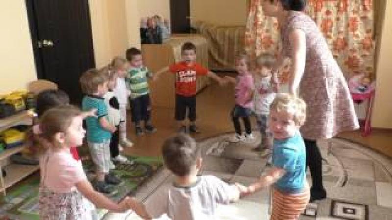 5 группа (дети 2-3 лет) Игра Мы большой построим дом