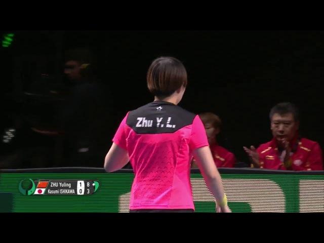 2018 Team World Cup Highlights I Zhu Yuling vs Kasumi Ishikawa (Final)