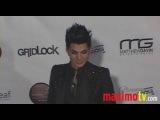 Adam Lambert, Pamela Anderson, Shayne Lamas GRIDLOCK 2010 Red Carpet