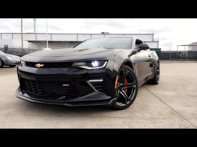 2017 Chevrolet Camaro SS 1LE with Track Package Recaro Seats