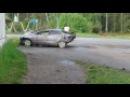 ЖУТКОЕ ДТП с камер наружного наблюдения г.Кунгур ПЕРМСКИЙ КРАЙ.