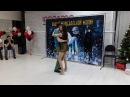 Zouk&Samba Christmas Holidays 2018 - Представление преподов - Евгений Гребцов и Евгения Никулина