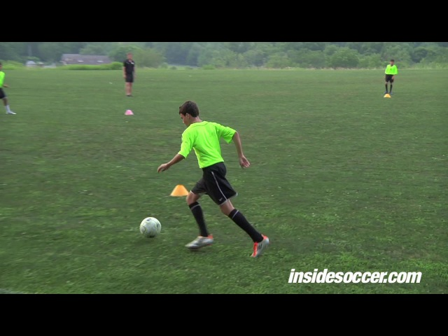 Position specific passing and receiving - Center backs: Arne Barez