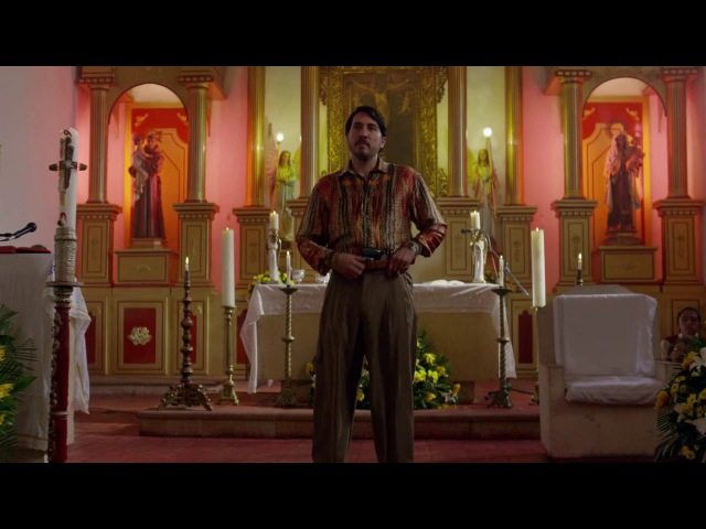 Pacho Herrera Church Scene [Narcos Season 3]