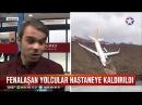 Trabzon'da pistten çıkan uçakta bulunan 168 yolcu son anda denize uçmadan kurtuldu