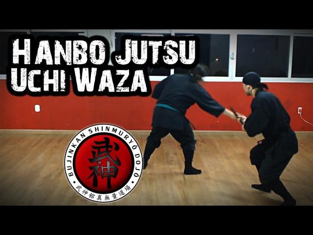 Ninjutsu | Hanbo Jutsu - Uchi Waza (Kukishinden Ryû)