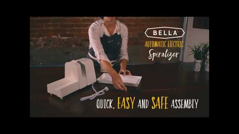 BELLA Automatic Electric Spiralizer – The BEST Choice