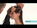 Aveda How-To Smooth and Straighten Hair with a Wrap